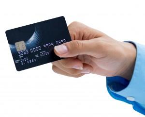 betalen met kredietkaart of debetkaart