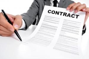 creditcard contract nalezen
