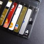 soorten kredietkaarten in portefeuille